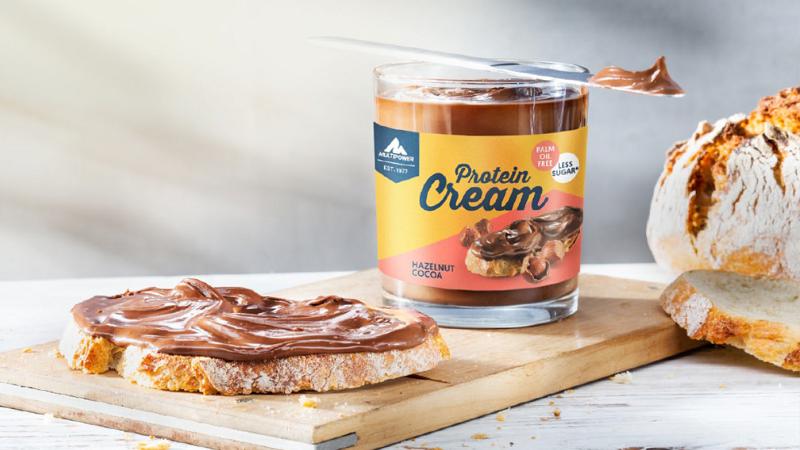"""Haselnuss-Nougat Protein Cream – """"Die Neue"""" im Multipower Sortiment"""