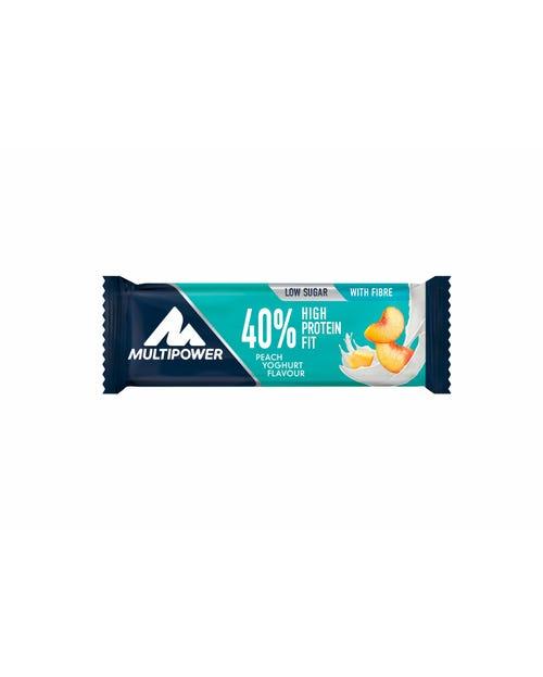 Mul 40% Prot Fit Peach Yoghurt 35g