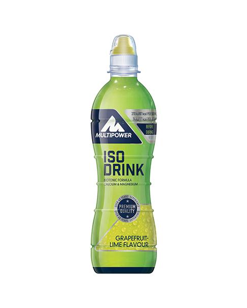 Multipower Iso Drink Grapefruit-Limette 500ml