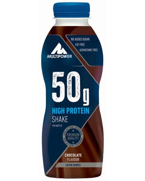 Multipower 50g High Protein Shake Schoko 500ml