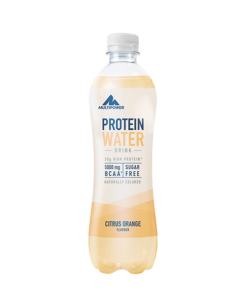 Multipower Proteinwasser Citrus Orange 500ml