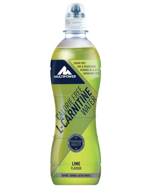 Multipower Calorie free L-Carnitin Wasser Lime 500ml