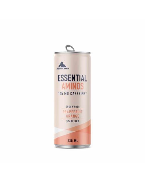 Multipower Essential Aminos - Grapefruit Orange Drink 330ml