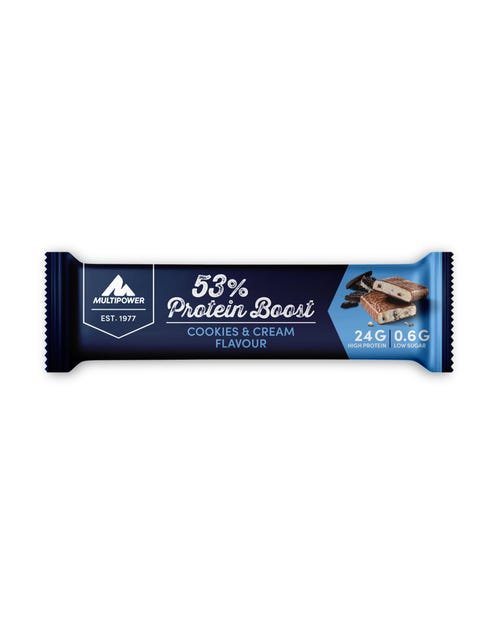 Multipower 53% Protein Boost Cookies& Cream 45g