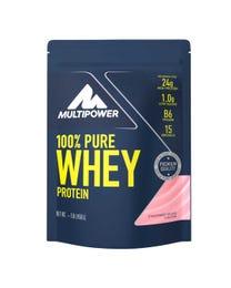 Multipower 100% Whey Protein Erdbeere 450g