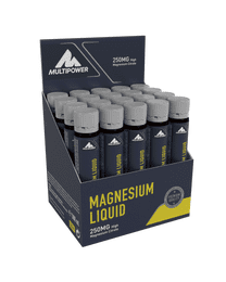 Multipower Magnesium Liquid 20*25ml Ampullen