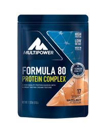 Multipower Formula 80 Haselnuss 510g