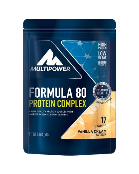 Multipower Formula 80 Vanille 510g