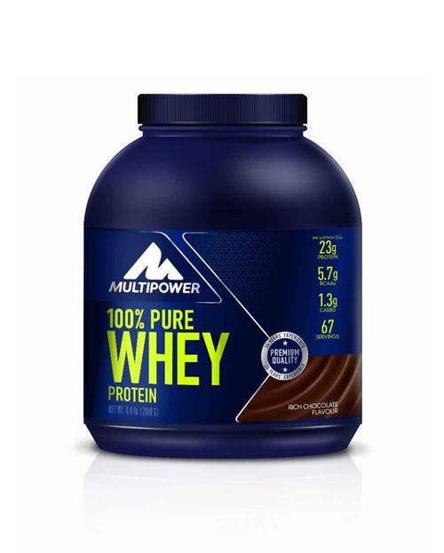 Multipower 100% Whey Protein Schoko 2000g