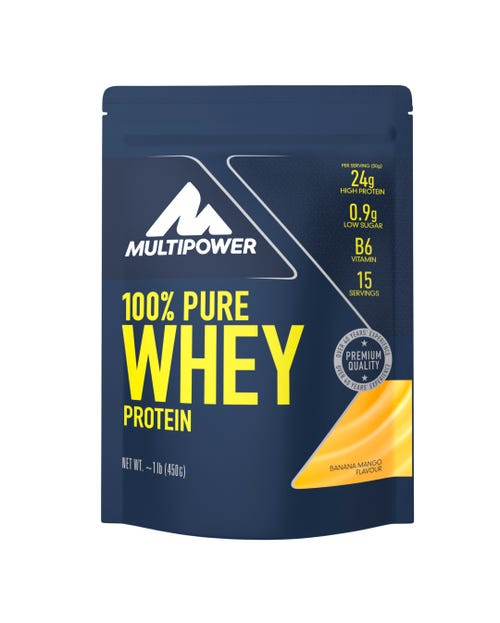 Multipower 100% PURE WHEY PROTEIN - 450G Banane Mango